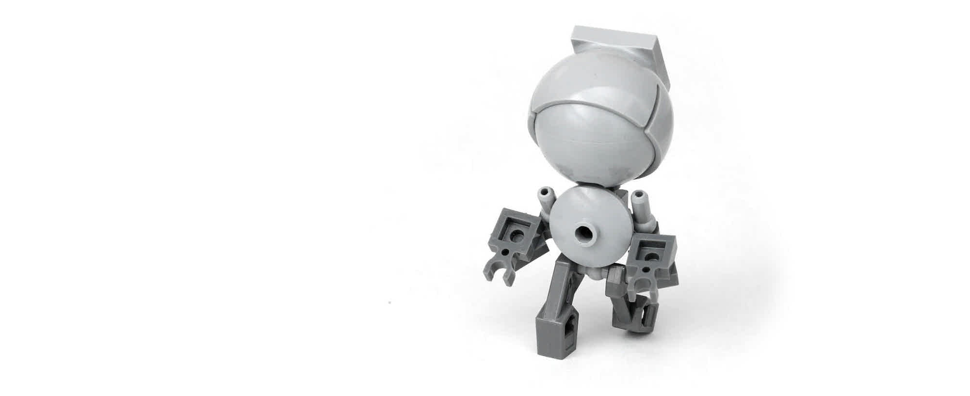 Marvin – Small robot made out of Lego bricks.