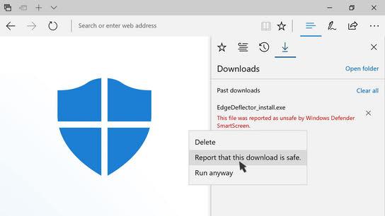 Windows defender explorer exe error
