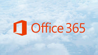 The Office 365 logo floating in the clouds.