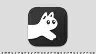 A big version of the RunCat app icon with stop-frames from an animation of a small running cat at the bottom.
