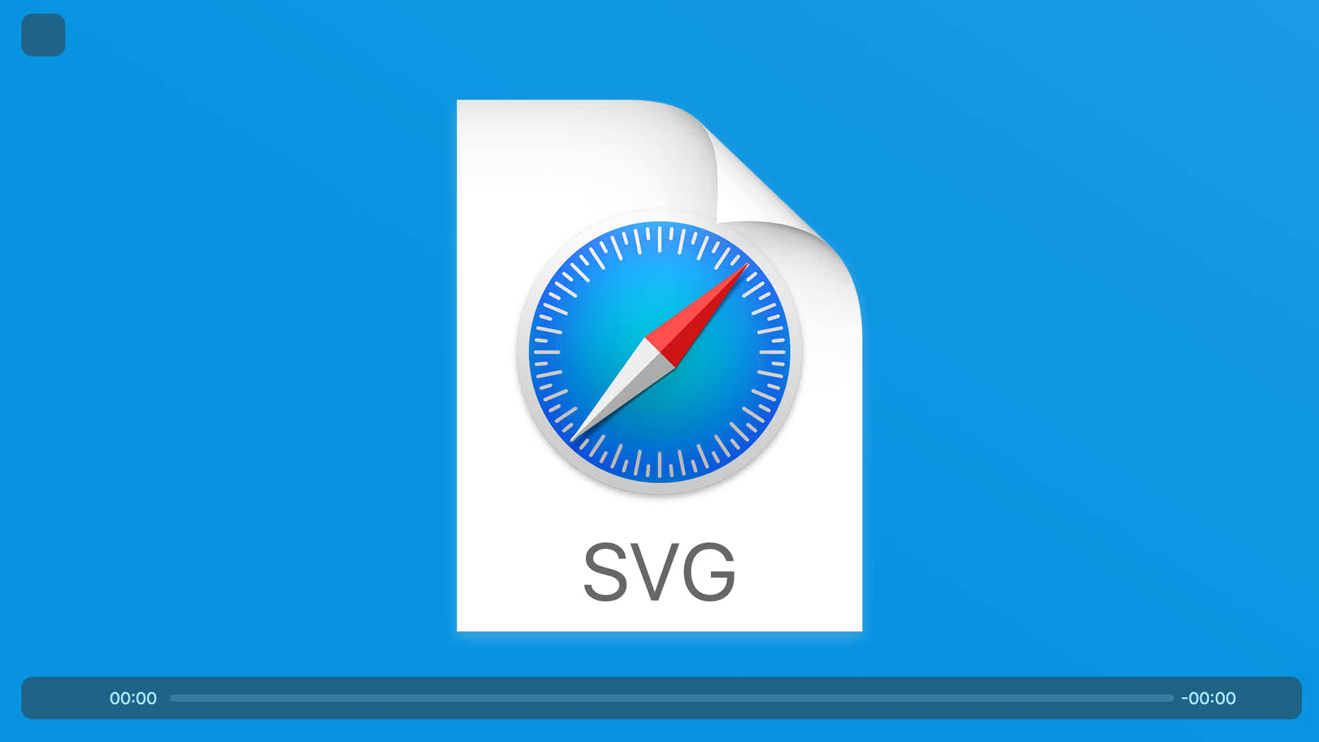 Safari SVG media player assets