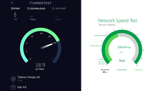 Network speed testing apps on Windows 10: Ookla or Microsoft? | Ctrl