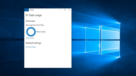 Fix the Windows 10 Data usage report when it stops counting