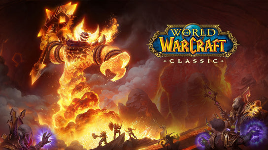 Ragnaros the Firelord in World of WarCraft.
