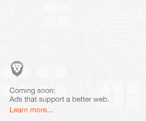 "Ad placeholder: ""Coming soon: Ads that support a better web"""