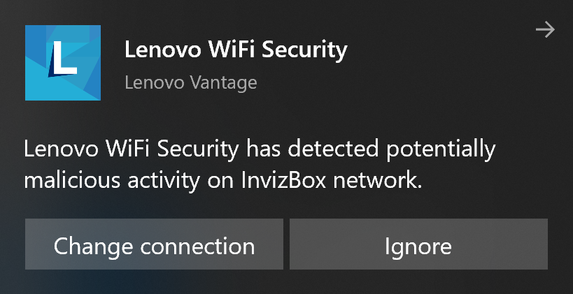 What is Lenovo WiFi Security and should you enable or ignore it